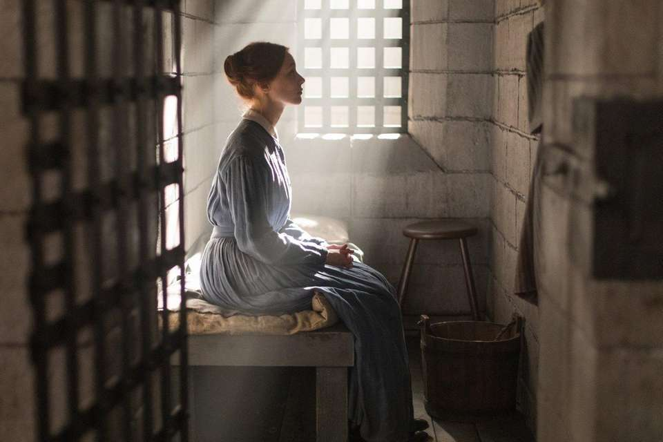 Sarah Gadon stars as a woman in prison