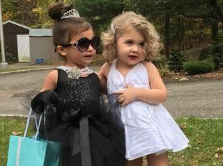 Best Friends Ava Ahlstrand & Mckenna Cash dressed