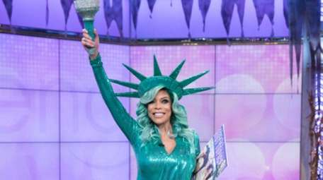 Wendy Williams in the Halloween costume she was
