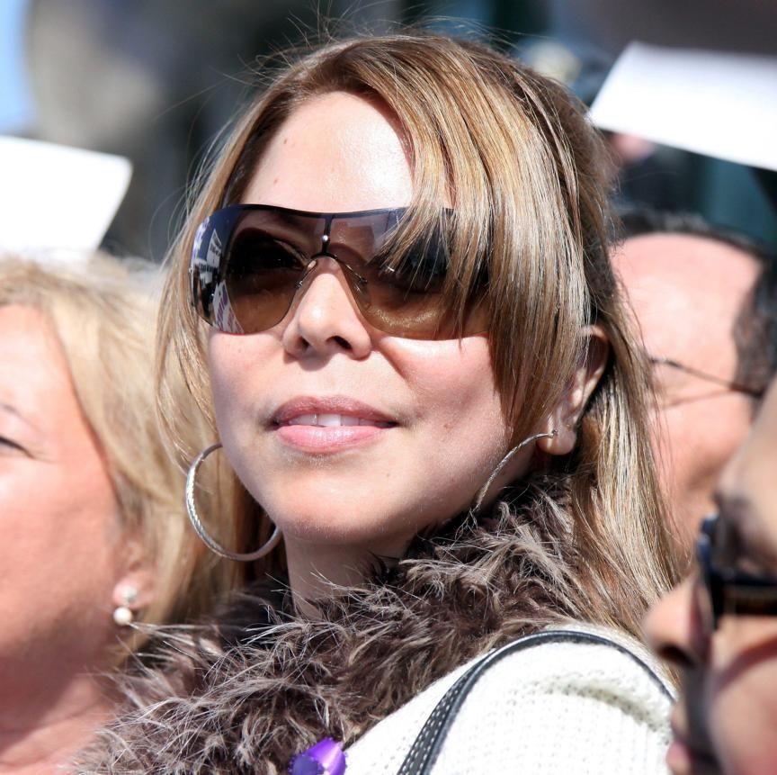 Karla Giraldo, girlfriend of Sen. Hiram Monserrate, who