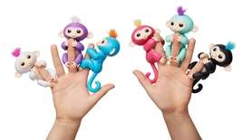 Fingerlings Baby Monkeys hang onto your finger and