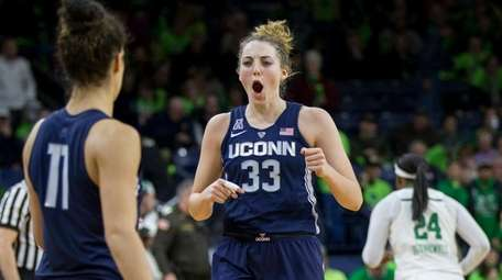 As a sophomore last season, UConn's Katie Lou