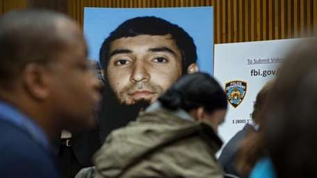 A photo of Sayfullo Saipov is displayed at
