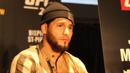 UFC welterweight Jorge Masvidal talks on Wednesday, Nov.