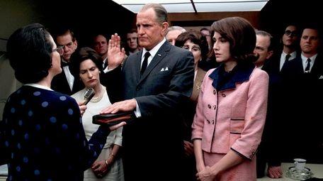 Woody Harrelson stars as Lyndon Johnson and Kim