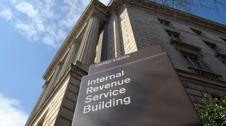 The exterior of the Internal Revenue Service (IRS)