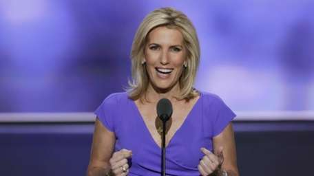 Conservative political commentator Laura Ingraham at the Republican
