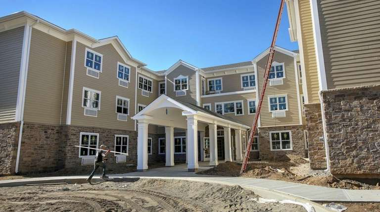 Among the assisted living projects being built on