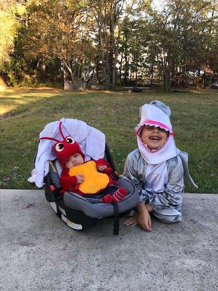 Happy Halloween from my little sea creatures !