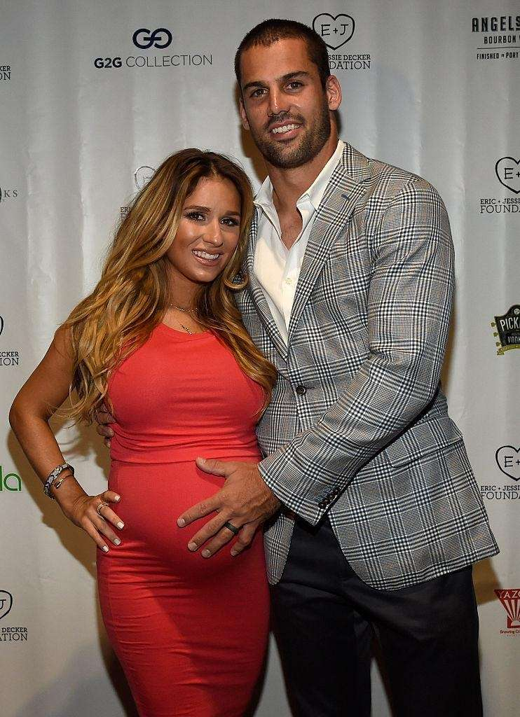NFL wide receiver Eric Decker and country singer