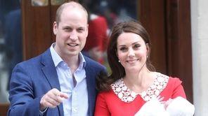 Catherine, Duchess of Cambridge, and Prince William, Duke