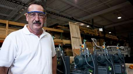 Leonard A. Rosenbaum, CVD Equipment president and chief