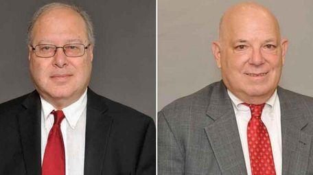 Richard Hoffmann, left, and Robert Lifson, candidates for