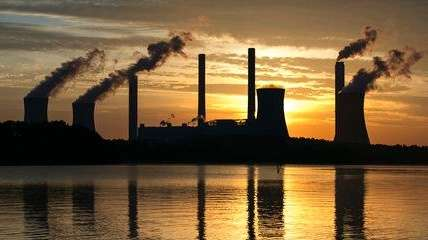 The coal-fired Plant Scherer, one of the nation's