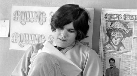 Jann Wenner in the early days of the