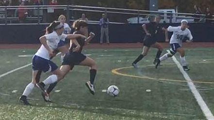 Morgan Camarda scored the winning goal as No.