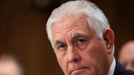 Secretary of State Rex Tillerson sent a letter