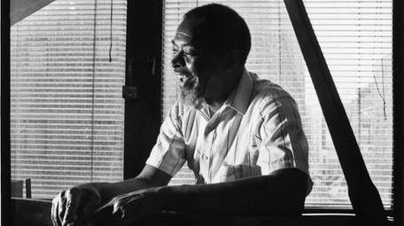 Muhal Richard Abrams at home in Manhattan in