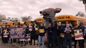 The union representing bus drivers in four Nassau