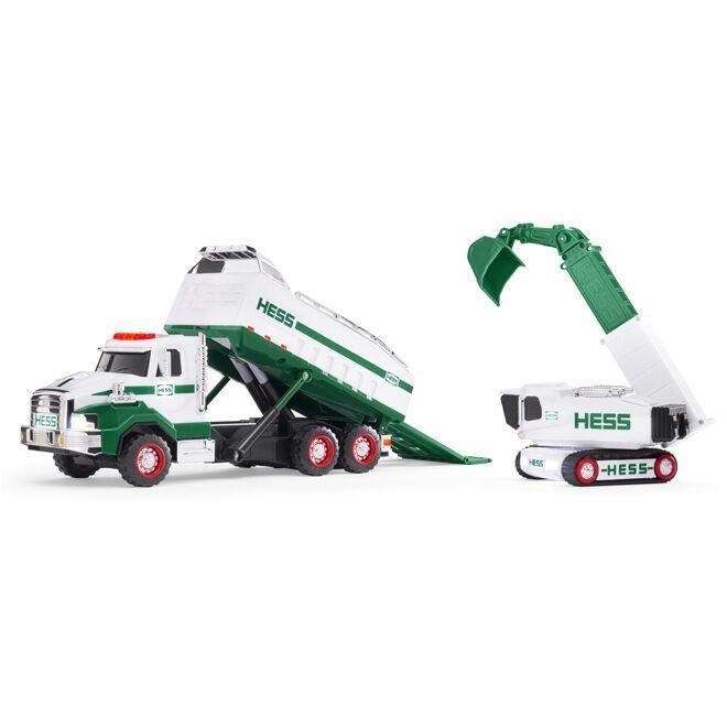 The latest truck features a hydraulic powered lifting