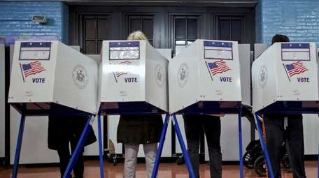 Voters on Long Island and in New York