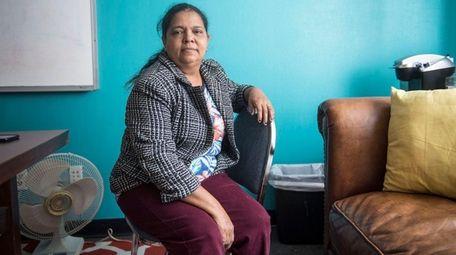María Ulloa Funes, an immigrant from Honduras who