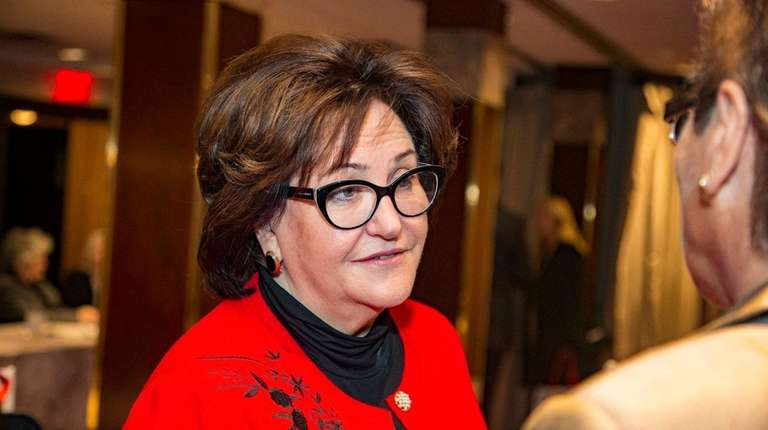 State Education Commissioner MaryEllen Elia spoke about the