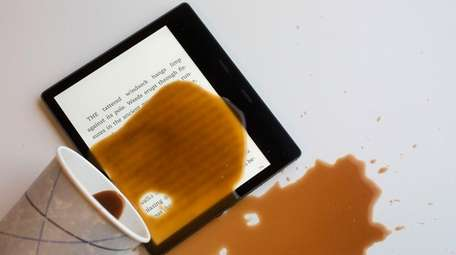 Amazon's top-of-the-line Kindle Oasis e-reader is billed as