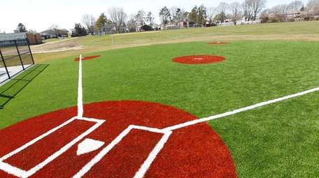 A Town of Oyster Bay baseball field.
