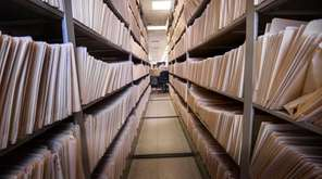 Property tax files are stored at the Nassau