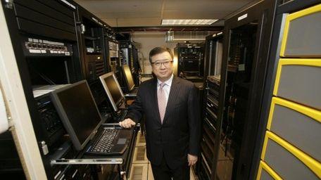 ReiJane Huai, then chief executive of FalconStor Software,