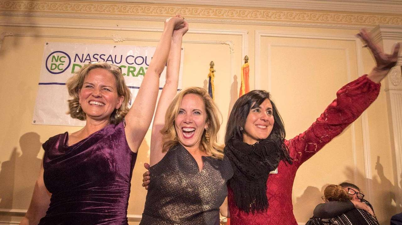 Democratic candidate for Nassau County county executive, Laura