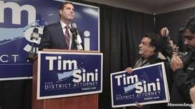 Suffolk County Police Commissioner Timothy Sini, a Democrat,