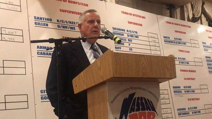 Nassau County Republican Committee Chairman Joseph Mondello spoke