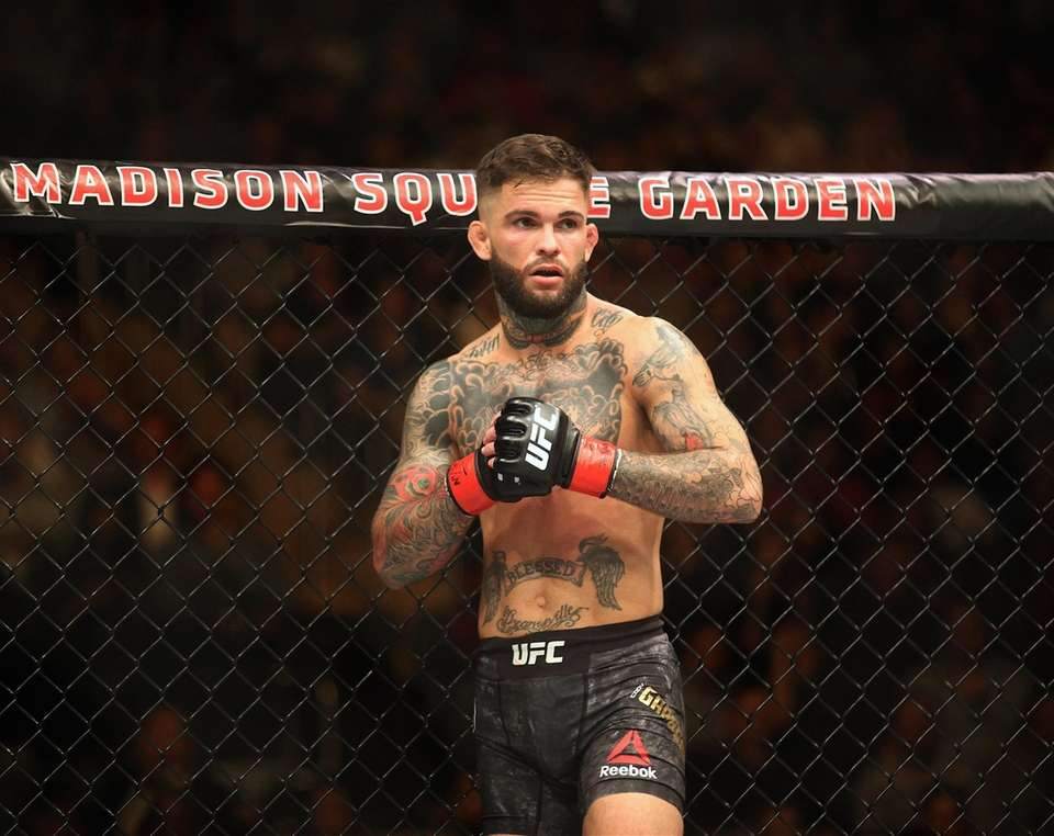 Cody Garbrandt, prepares to face TJ Dillashaw fight