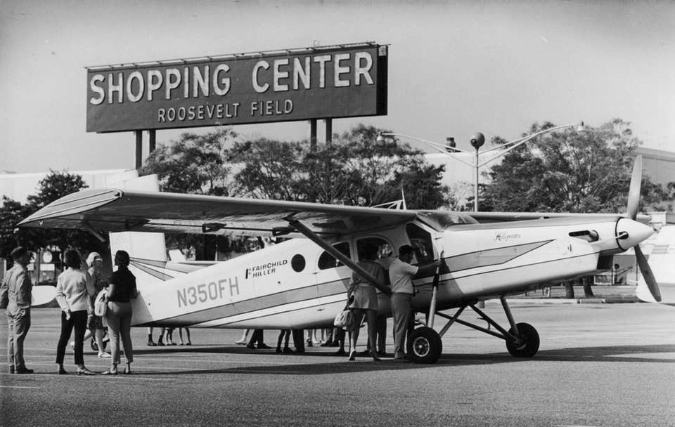A Fairchild Hiller STOL -- short takeoff and