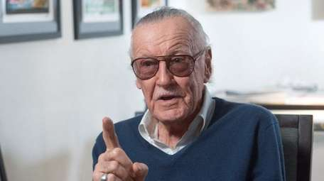Comics legend (and former Hewlett Harbor resident) Stan