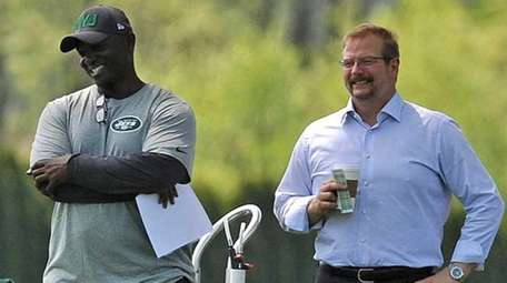 New York Jets coach Todd Bowles and general