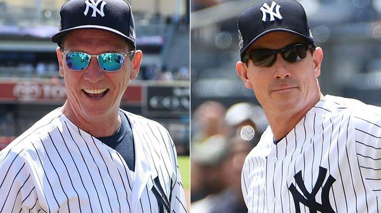 David Cone, left, and John Flaherty have expressed