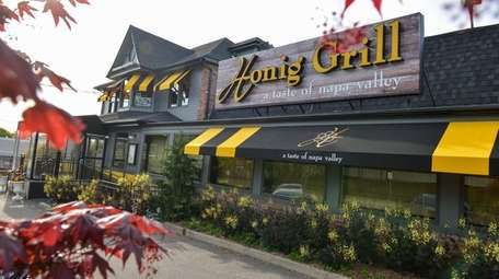 Honig Grill, seen here on April 30, 2016,