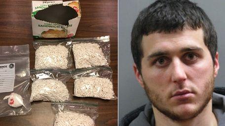 Brendon F. Mueller, 24, of Oceanside was arrested