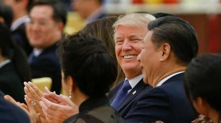 President Donald Trump and China's President Xi Jinping