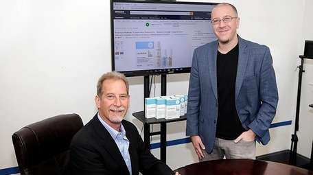 Kantian Skincare co-founder Richard Klein, left, and president