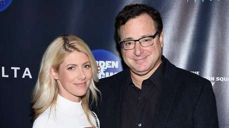 Kelly Rizzo and Bob Saget attend the Garden