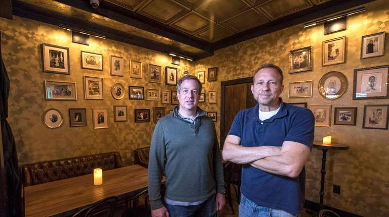 Nick and John DeVito renovated the Prohibition-era speakeasy