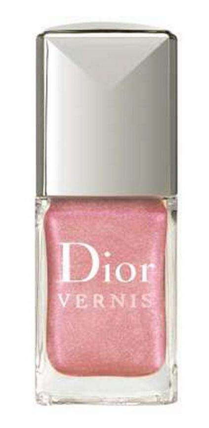 Pink Dahlia nail polish from Dior, retails for