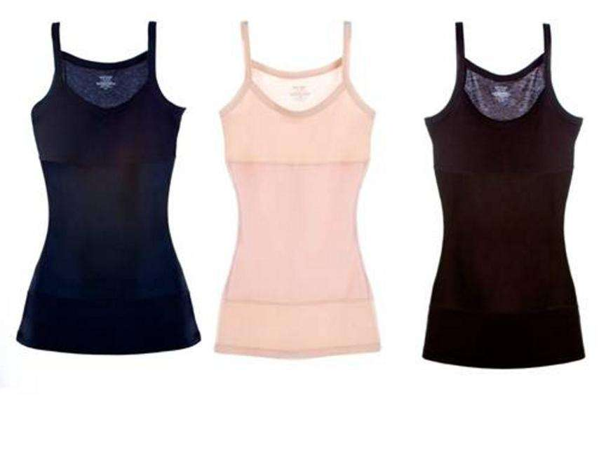 Yummie Tummie tanks, $62 at yummietummie.com, are available