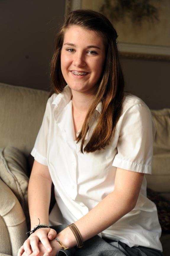 Kate Kammerer, 14, Massapequa Park Helps care for