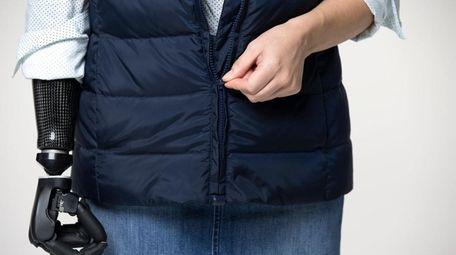Down Puffer Vest ($99.50), Micro Dot Shirt ($69.50),