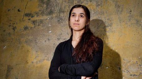 Nadia Murad, a Yazidi woman who survived sexual